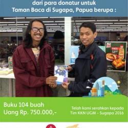 Donasi untuk Taman Baca Sugapa (1)